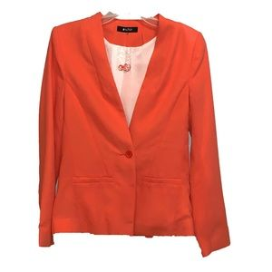 NEW Orange Blazer 41 Hawthorn Small